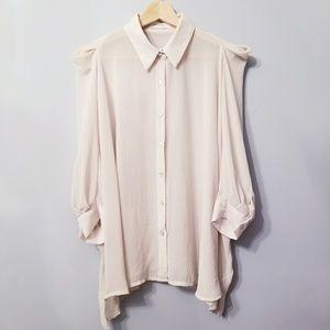 Tops - Blush Color Loose fit Blouse S-L